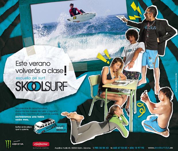SkoolSurf Cartel vuelta a clase